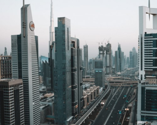 luxurious Dubai, the main attractions of the city